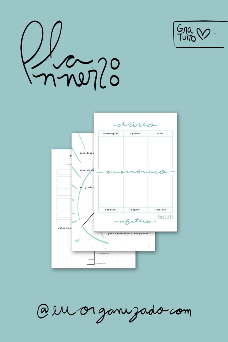 planner para imprimir 2020