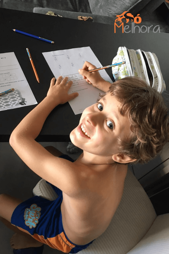 imagem do meu filho de 7 anos