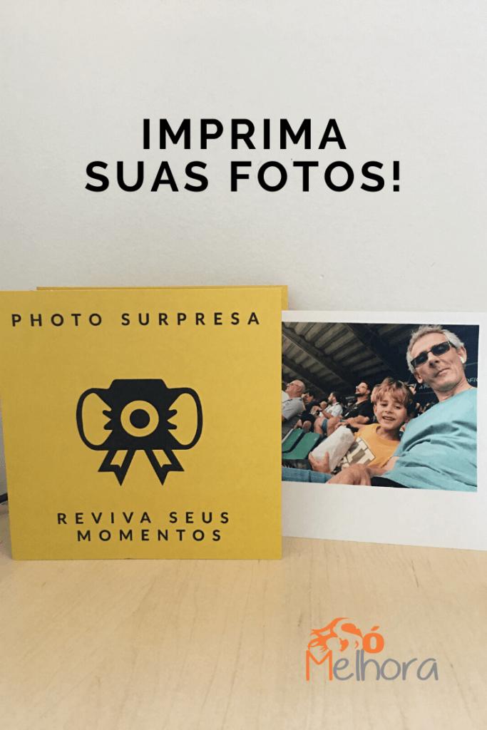 """imagem ilustrativa do Photo Surpresa dizendo """"imprima suas fotos"""""""