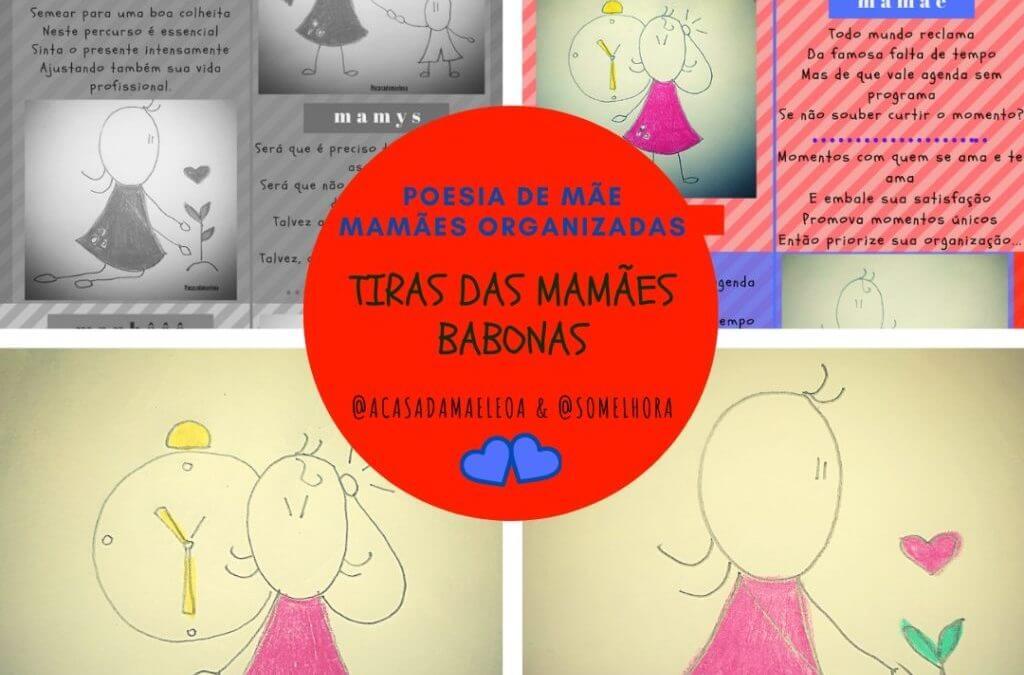 Mamães Babonas em: Mamães Organizadas 💁♀️