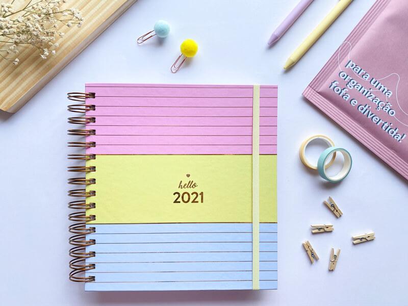 imagem de um exemplo de planner da we love planner