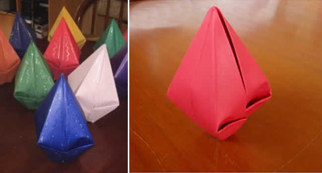 balão de papel