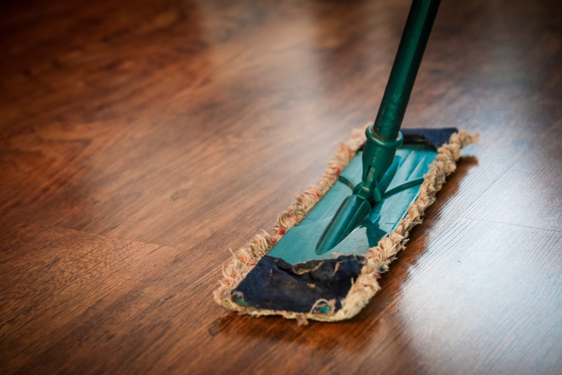 imagem de um mop de limpeza